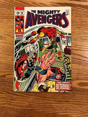 Avengers #66, Vision, Thor, Iron Man vs. Ultron ()