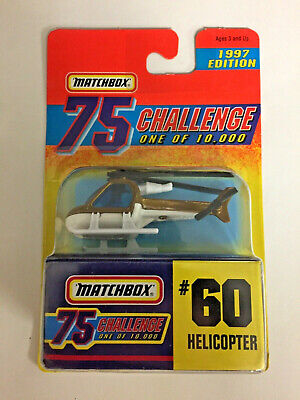 Matchbox 75 Challenge One of Ten Thousand - Helicopter #60