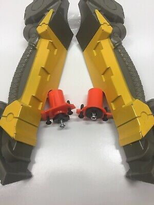 NERF Longshot CS-6 Blaster N-Strike * Bi Pod legs With Screws In Good Condition