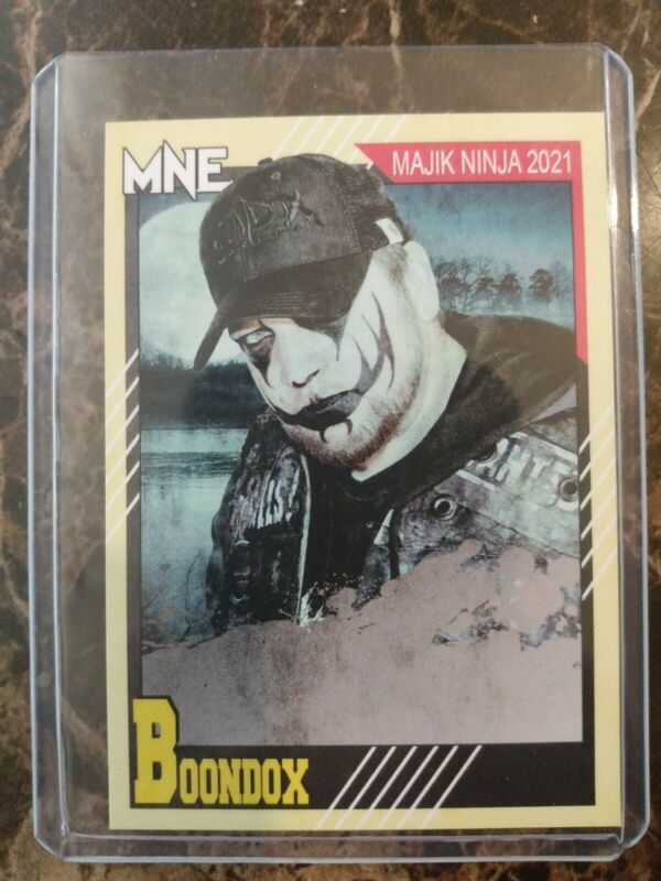 Boondox Collectible Card -MNE 2021 NM x1