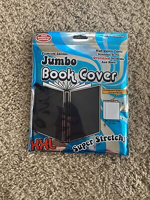 Jumbo Stretchable Book Cover: Black