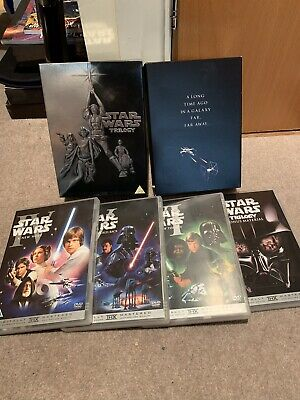 Star Wars - The Original Trilogy (DVD, 2006, 4-Disc Set, Box Set)