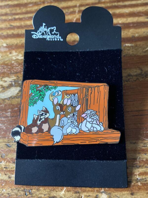 Disneyland Resorts Snow White Forest Friends Animal Pin Rare Older Disney