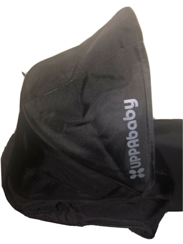 Uppababy G-Luxe Stroller Replacement UV Canopy Shade Hood Gray & Black