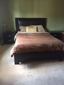6 piece queen size bedroom suite