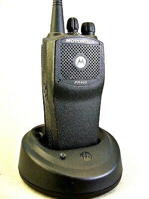 Mint Motorola Pr400 Uhf Ltr 16ch Radio Waccessories