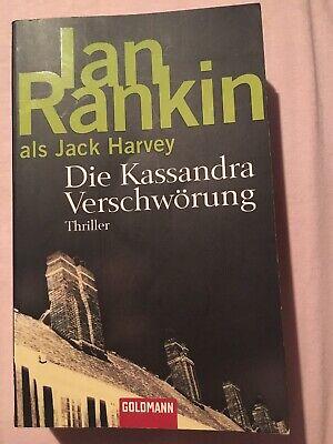 Ian Rankin als Jack Harvey Die Kassandra Verschwörung Buch Roman Thriller gebraucht kaufen  Petershagen