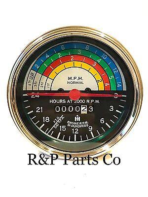 Tachometer For International Ih 240 Utility 371277r92 371277r93