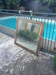 Selling Rustic Looking Wall Mirror Shellharbour Shellharbour Area Preview