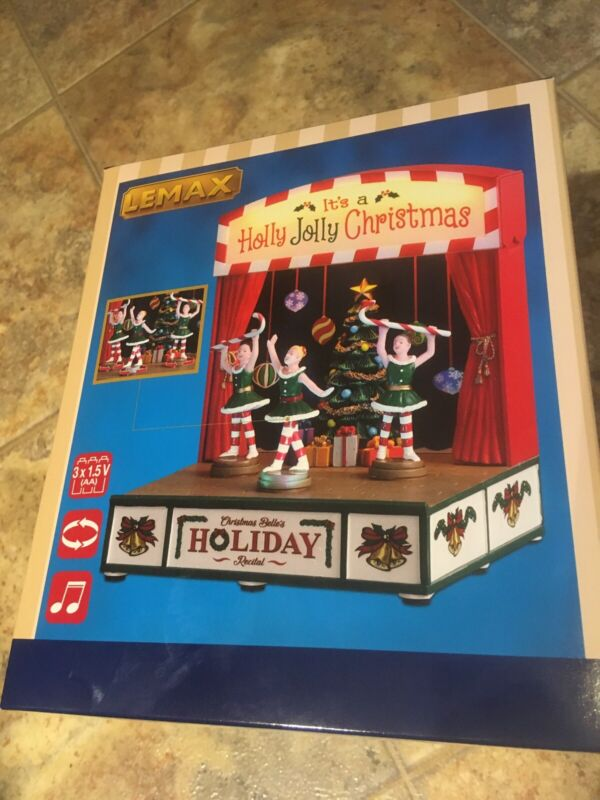 Lemax CHRISTMAS BELLE'S HOLIDAY RECITAL-Animated & Musical