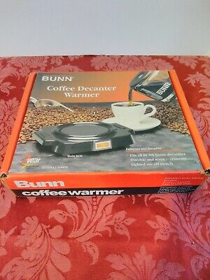 Bunn-o-matic Electric Warming Plate Coffee Pot Warmer Model Bcw