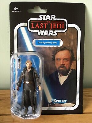 Star Wars The Vintage Collection Luke Skywalker Crait Figure VC146 With Case