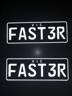 Personalised Plates (FAST3R)