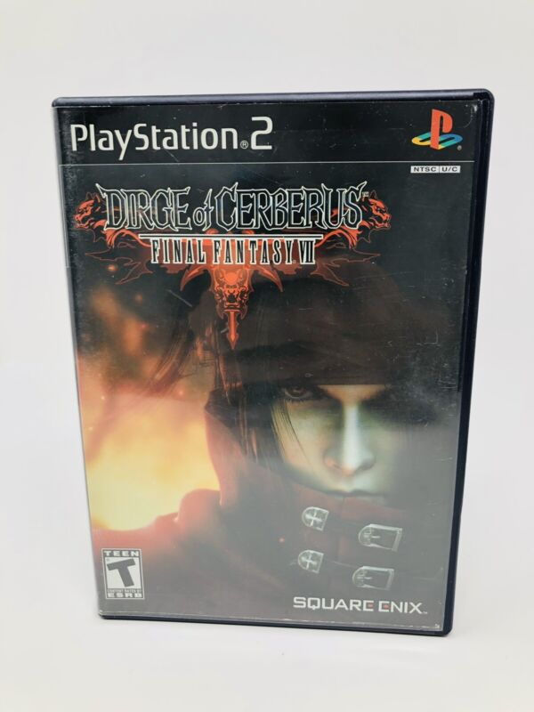 Dirge of Cerberus Final Fantasy VII Playstation Two PS2 - Cleaned And Tested