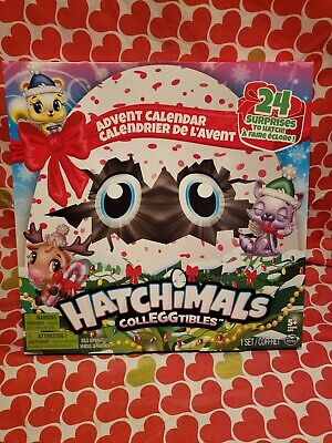 Lot of 2 Hatchimals Colleggtibles Advent Calendars ~ 24 Surprises To Hatch ~ NEW ()