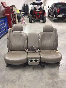 2001 Chev vinyl truck seats