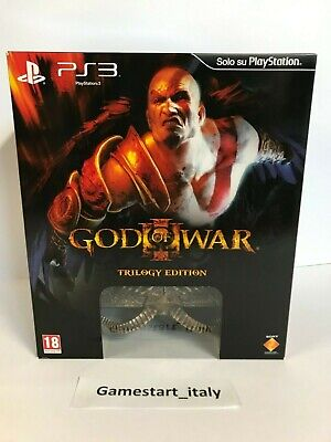 GOD OF WAR III 3 ULTIMATE TRILOGY COLLECTOR'S EDITION PS3 - NUOVO - NEW PANDORA ()