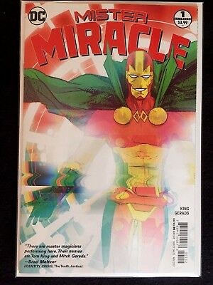 MISTER MIRACLE 1 2nd PRINT VARIANT TOM KING DC 2017 NM/NM+