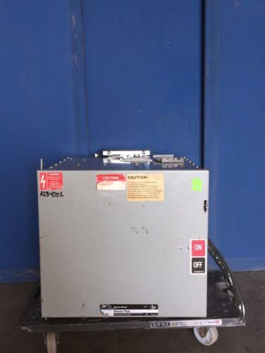 GE SB365RG 400A 600V 3PH W3/G BUS PLUG SWITCH