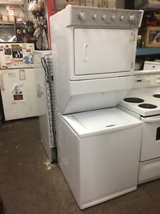 Full size whirlpool stackable washer dryer combo