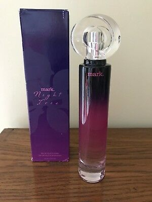 Night Iris - Avon mark.Night Iris Eau de Toilette Spray 1.7 fl oz - New in Box