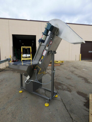 SERVICE ENGINEERING HYTROL HOPPER ELEVATOR LAST ONE