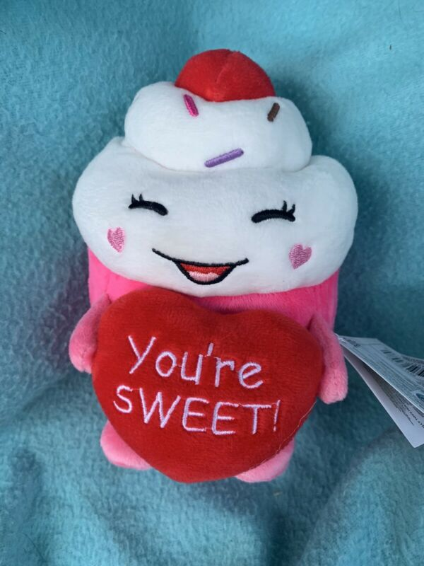 Russ Cupcake You're Sweet Plush Valentine's Collection