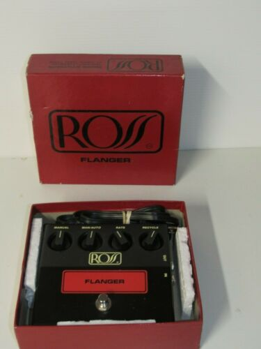 Vingt. Ross Flanger Guitar Effect Pedal In Box Mint Condition FAST FREE SHIPPING