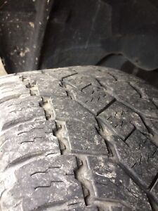 Toyo open country 275/55r20