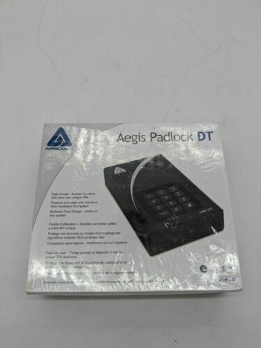 New  Apricorn 1TB Aegis Padlock DT Secure USB 3.0 - AW1050