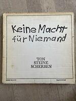 Ton Steine Scherben Keine Macht für Niemand Vinyl LP Frankfurt (Main) - Westend Vorschau