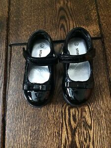 Quilted Mary Jane Shoes, size 6.5 (2 pairs)