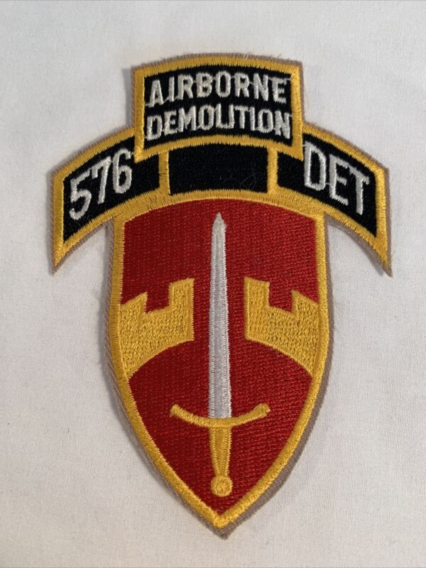US Army 576th Engineer Detachment, Pocket Patch