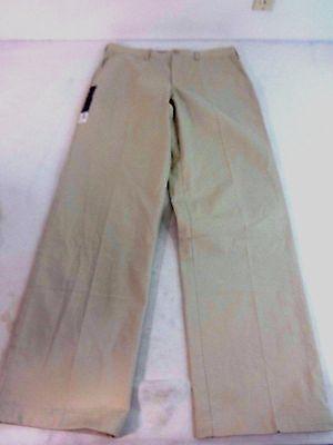 NWT CROFT & BARROW MENS DIVINE WHITE COTTON POLY BLEND DRESS PANTS SLACKS 34X34