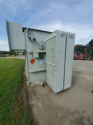 Niagara 4000 Kva Substation Transformer 13200 Delta Primary 480y277 Secondary
