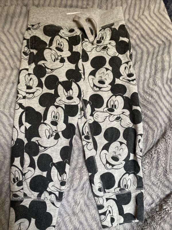 BABY GAP Disney Gray Mickey Mouse Joggers Pants boy Size 3T