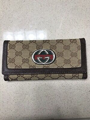 Authentic Gucci Continental wallet (Great Condition) US Only, Delivery (Gucci Delivery)