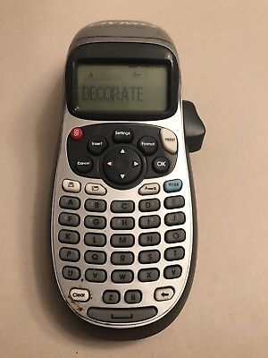 Dymo Letratag Label Maker - Works Great - Usa Seller - Fast Shipping