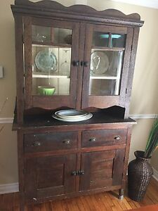 Antique Hutch ORIGINAL HARDWARE