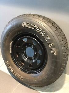 "SUNRAYSIA STEEL 4X4 OFF ROAD 16"" WHEELS WITH ALL TERRAIN TYRES HILUX Carramar Fairfield Area Preview"