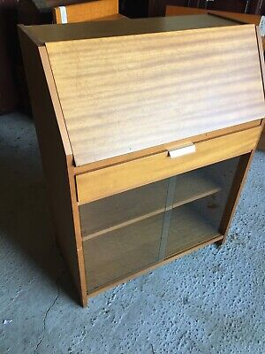 Vintage Retro Mid Century  Writing Bureau Bureaux Home Office By GIBBS 16/3/N/LB