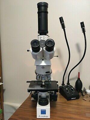 Zeiss Axioskop 50 Trinocular Microscope