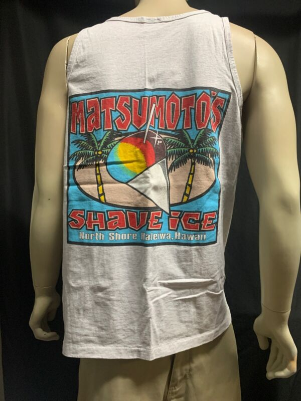 Matsumoto's Shave Ice Tank Top Size:XL By Anvil