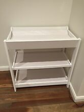 BOORI URBANE BABY CHANGER CHANGE TABLE with MATTRESS - White rrp$330 Aspendale Gardens Kingston Area Preview