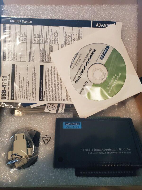 Advantech USB-4761 Portable Data Acquisition Module USB-4761