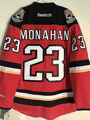 Reebok Premier NHL Jersey Calgary Flames Sean Monahan Red Alt sz M 6f7e5d3c032