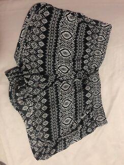 Cute pair of chiffon shorts