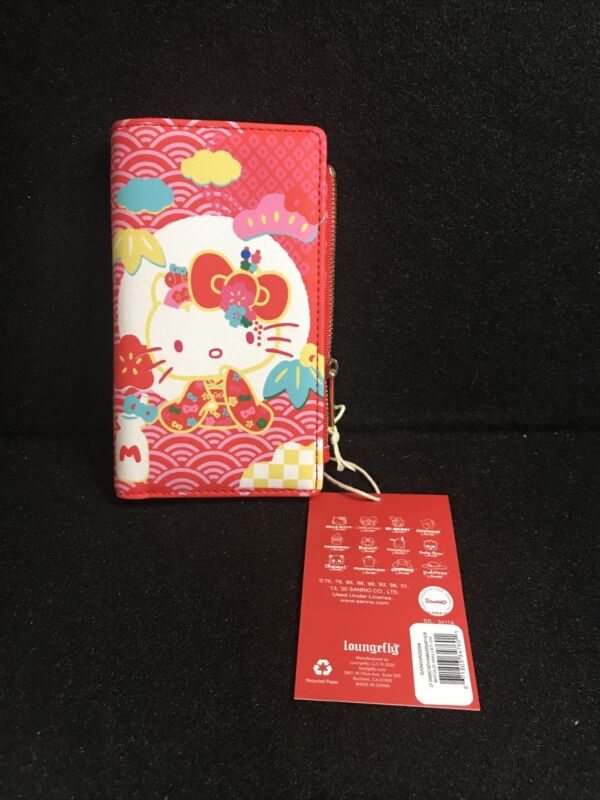 Loungefly Hello Sanrio 60th Anniversary Wallet New In Hand