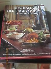 AUSTRALIAN HERITAGE COOKING FOR THE MICROWAVE Dubbo 2830 Dubbo Area Preview