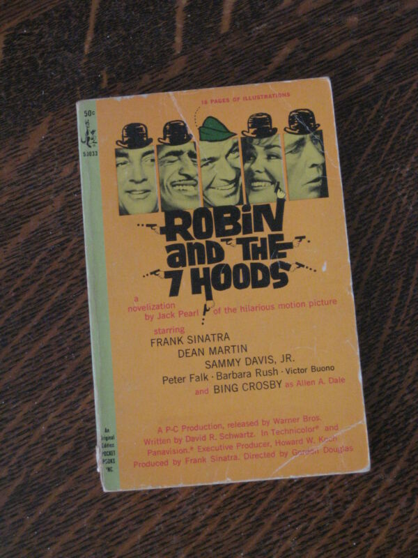 Jack Pearl ROBIN AND THE 7 HOODS movie edition paperback
